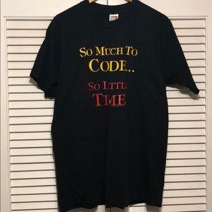 🔥VINTAGE🔥1994 ComputerWear SINGLE STITCH T-shirt